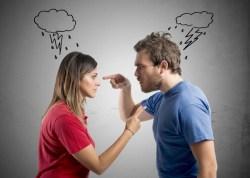 Vrede følelser i parforholdet