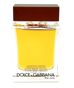 D&G the one for men after shave lotion