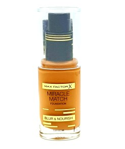 max factor miracle match foundation no. 90 toffee
