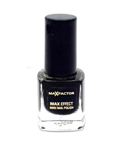 Max Factor Max Effect Mini Nail Polish 36 Laquer Noir