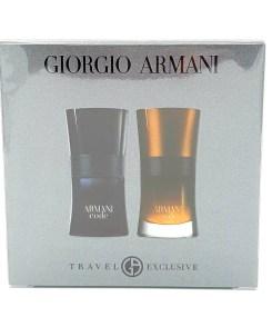 Giorgio Armani Travel Exclusive 1x 30ml Armani Code Profumo & 1x 30ml Armani Code Eau de Toilette