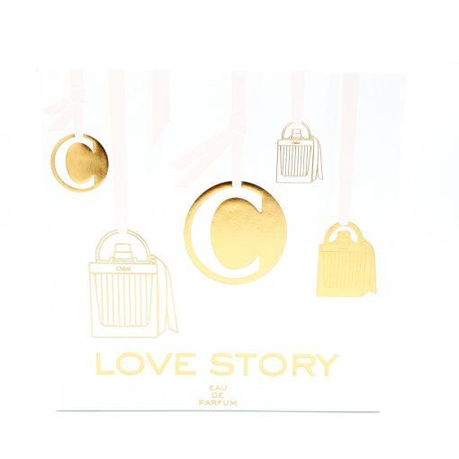 Chloé Love Story Gift Set 75ml Eau de Parfum + 100ml Perfumed Body Lotion