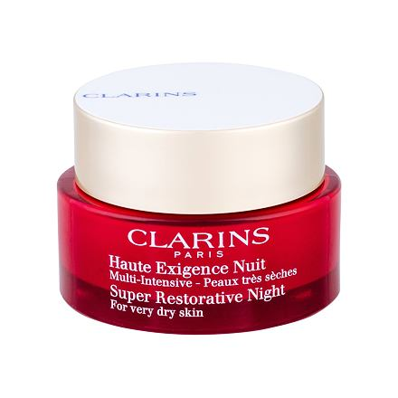 Clarins Super Restorative Night Nachtpflege f�r sehr trockene reife Haut 50 ml Tester
