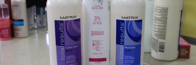 Використання косметики для волосся Matrix. Ще один день краси.