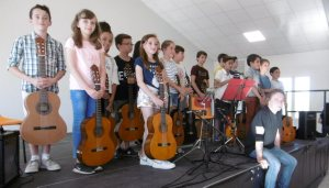 Audition ANACROUSE-AMAC : Guitares, flûtes et violons - 28/06/2018 - ladepeche.fr