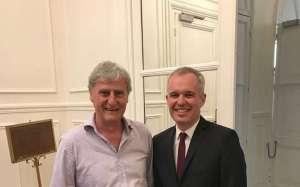 Lot-et-Garonne: quand Janouille rencontre le président de l'Assemblée nationale - Sud Ouest.fr