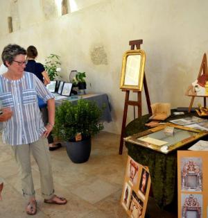 Quand les métiers d'art s'exposent au Château de St Loup - 30/07/2018 - ladepeche.fr