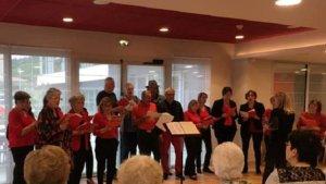 La chorale municipale en concert à Domitys - ladepeche.fr