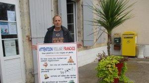 """Moncrabeau : """"Attention village français"""" - ladepeche.fr"""