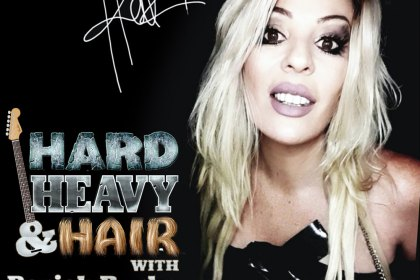 Hellz, Lisa Perry, Hellz Abyss, Interview on the Hard, Heavy & Hair Show with Pariah Burke