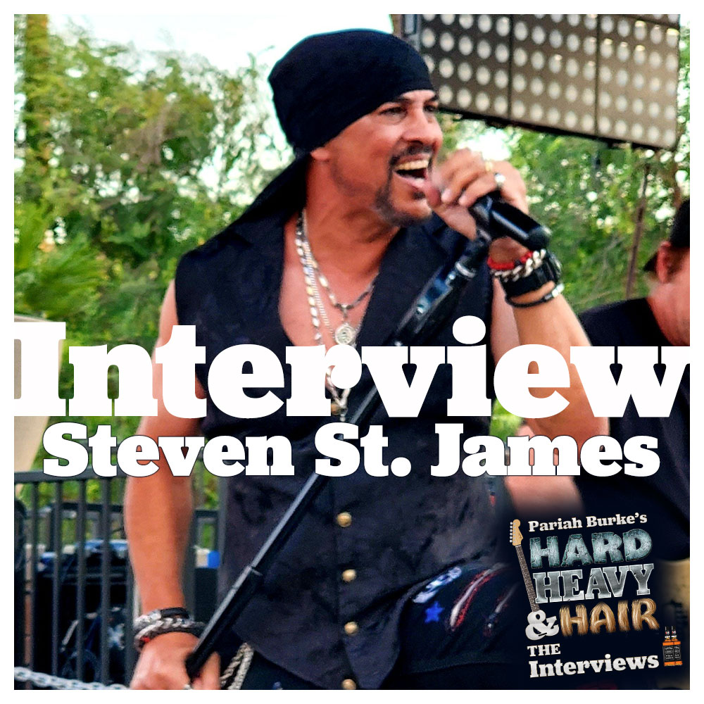 Steven St. James (Rough Cutt, Sarge, Kagny and the Dirty Rats) Interview