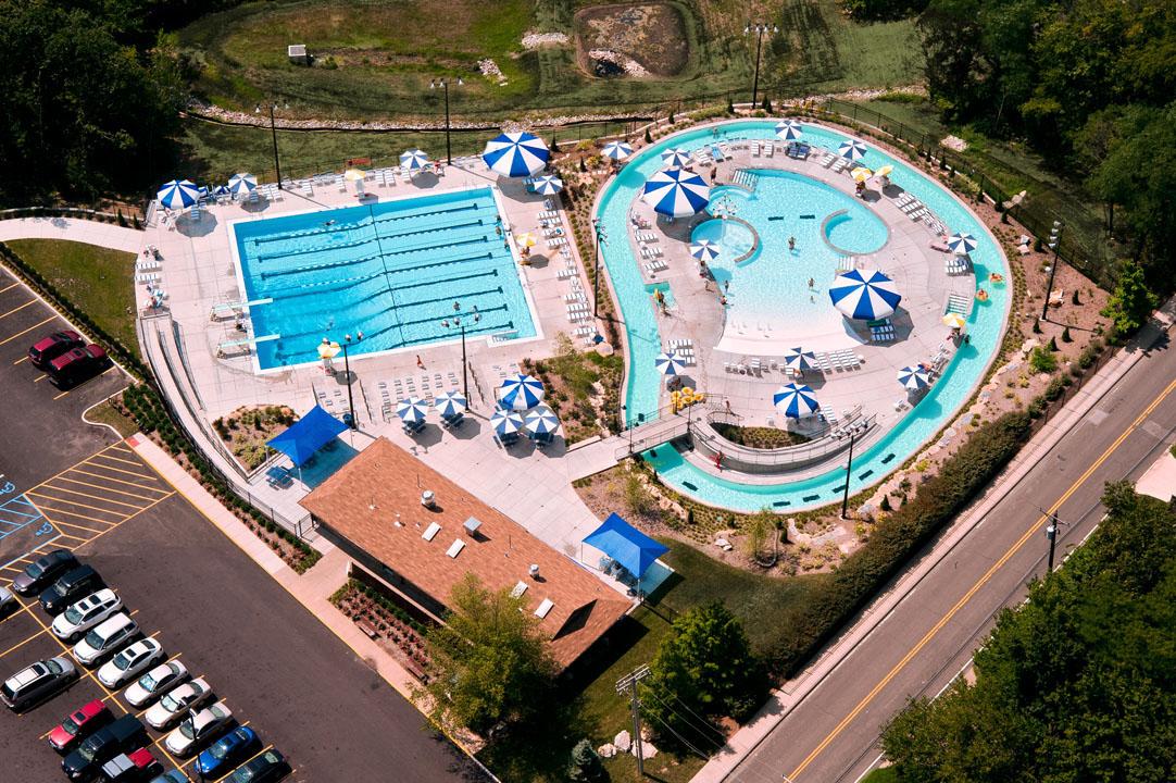 Sunset Hills Aquatic Center  PARIC Construction  St Louis Missouri