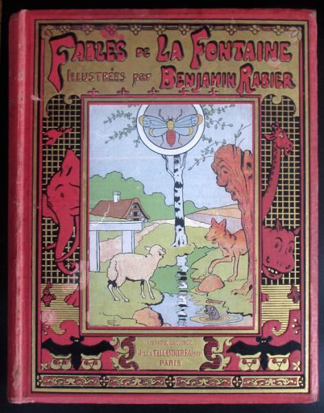 Fables De La Fontaine Rabier Edition Integrale 1906 La