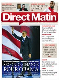 Direct Matin cover