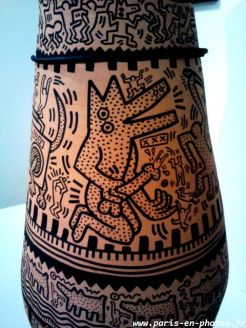vase antique Keith Haring