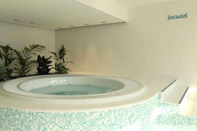 Jacuzzi hammam sauna solarium et piscine pour 15