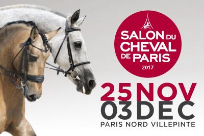 Gagnez des invitations pour le Salon du Cheval 2017