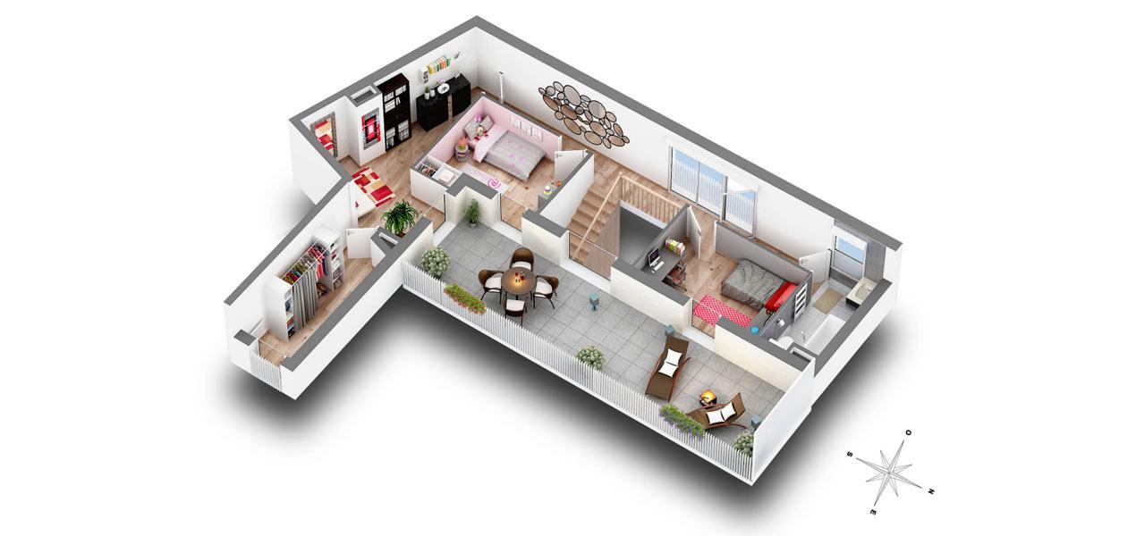 Appartement T1 Ile De France