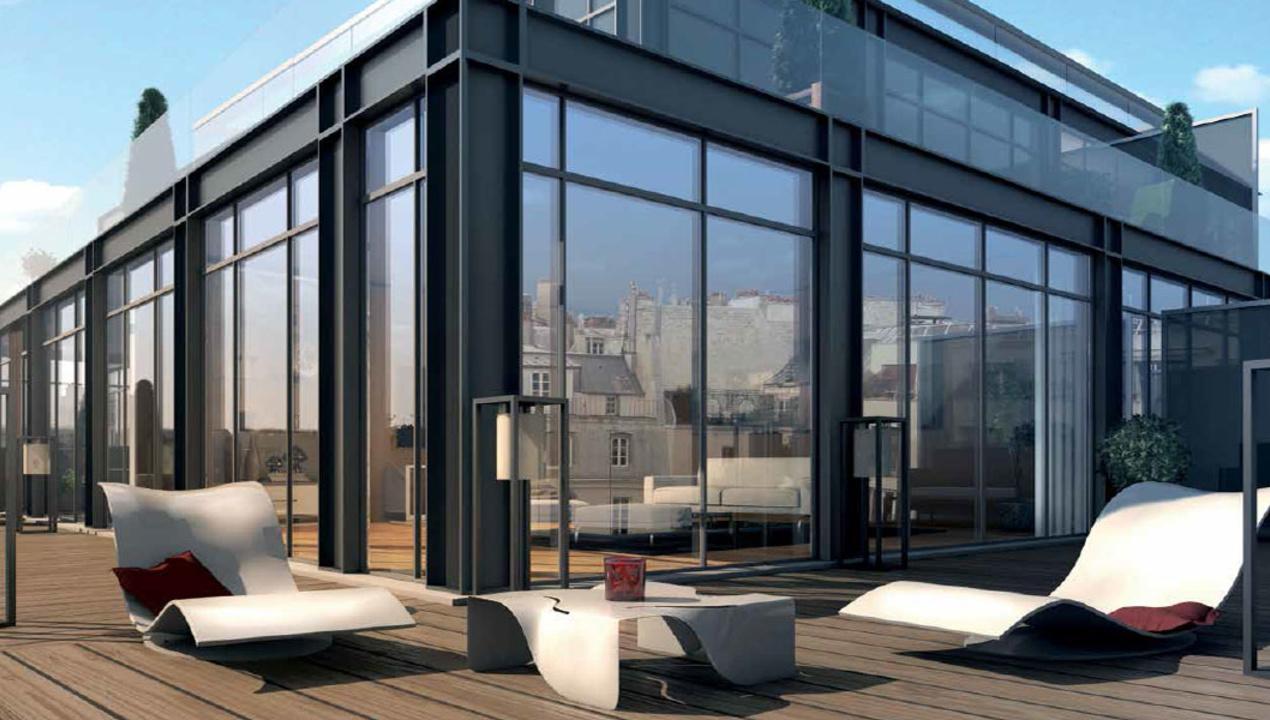 Appartement neuf T4  Paris 6  Rive gauche 4 pices  75006  Rf 1055  Mdicis Prestige