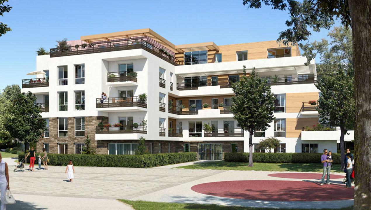 Appartement neuf T3  Antony  Parc Heller 3 pices  92160  Rf 1126  Mdicis Prestige