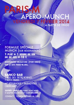 Flyer Apé'rencontre n°23 - 7 février 2014