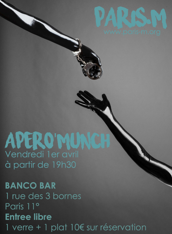 Apero munch paris m avril 2016