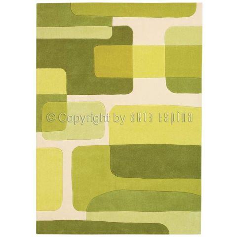 tapis arte espina pop art vert