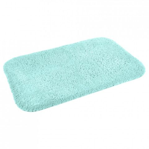 tapis de bain microfibre mellow 50x80cm vert menthe