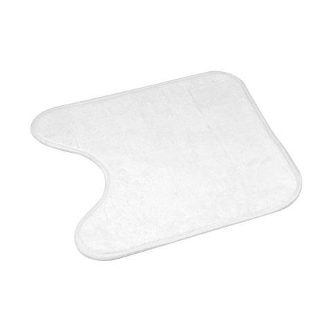 tapis contour wc vitamine ii 45x45cm blanc