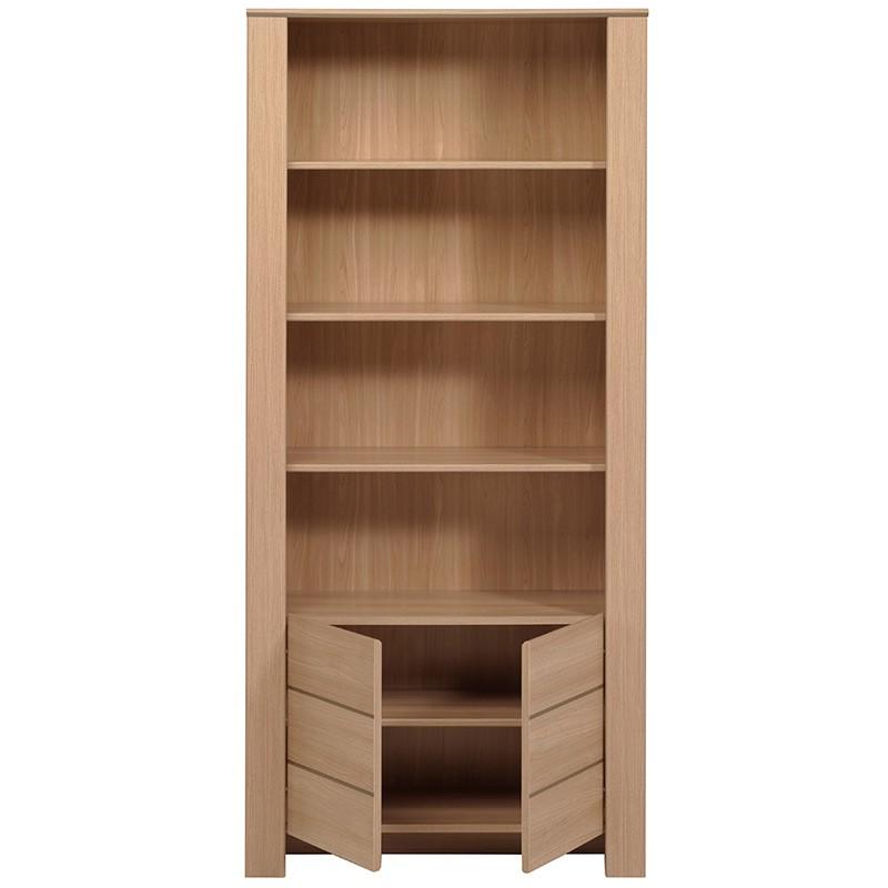bibliotheque 2 portes arthur bois clair