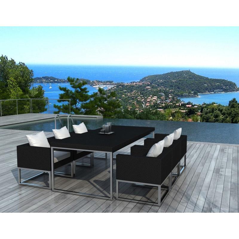 Salon de jardin maison du monde affordable mobilier de - Salon de jardin en bois maison du monde ...