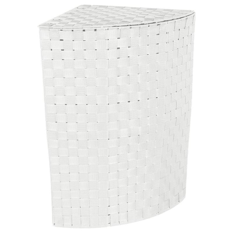 Panier Linge DAngle 60cm Blanc