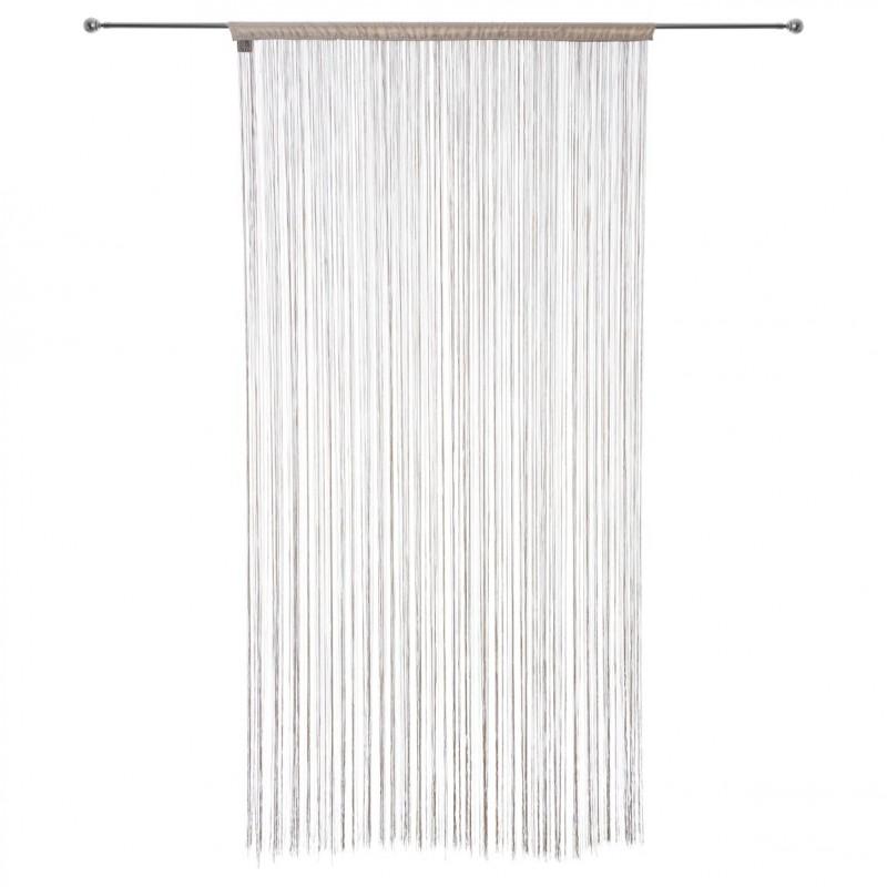 rideau fil 90x200cm lin