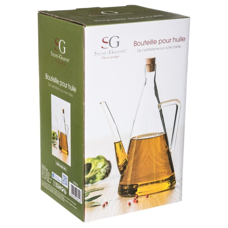 bouteille vide huile d olive triangle 51cl