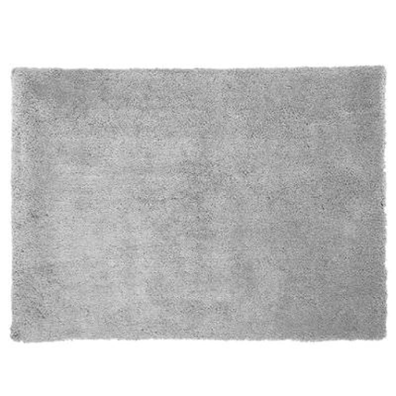 tapis de salon doux 120x170cm gris