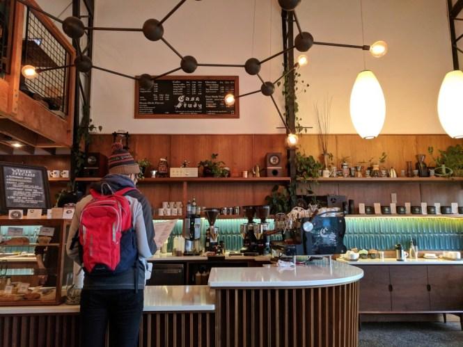 Café Case Study Coffee Roaster, Portland, Oregon