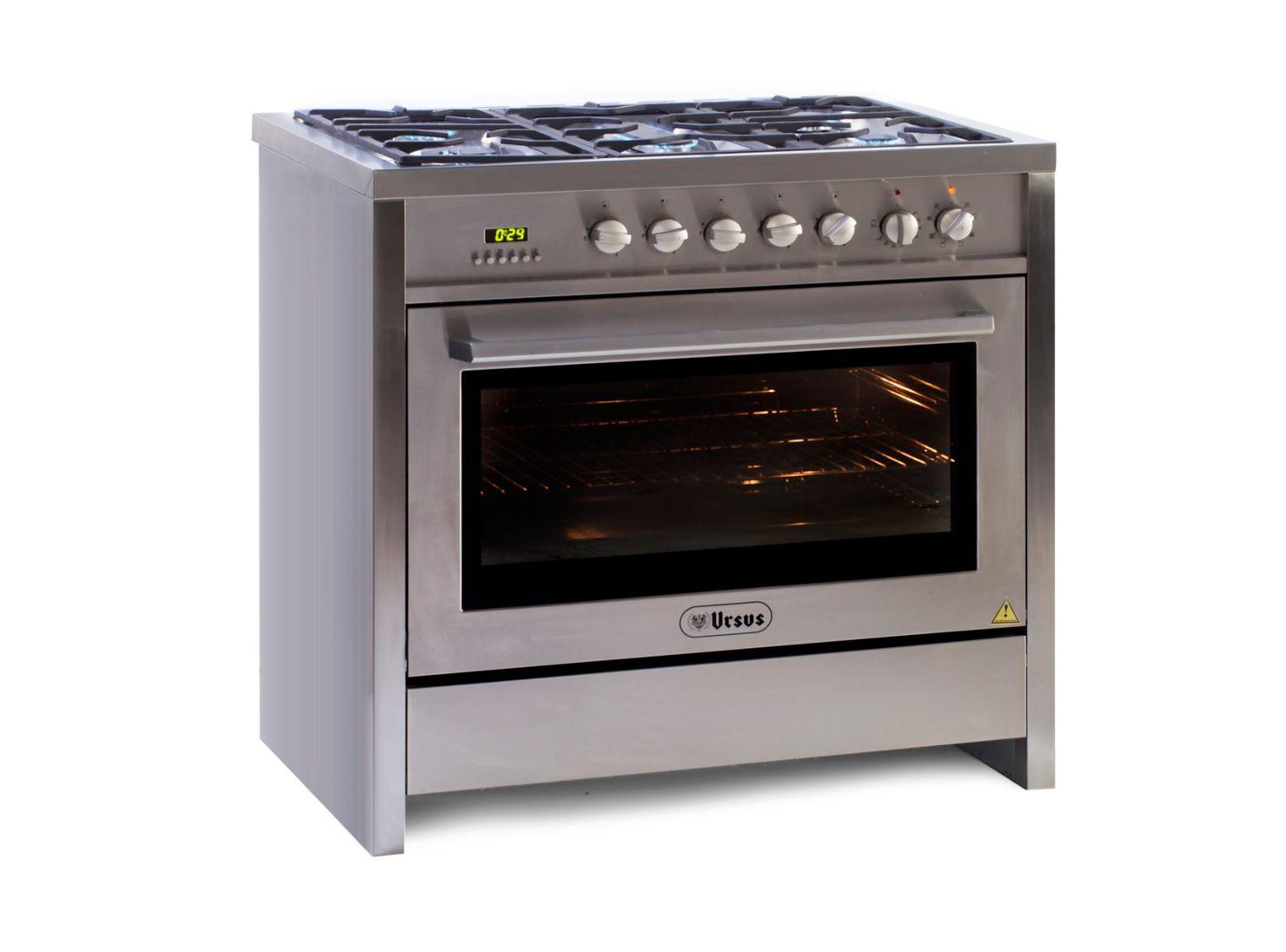 Cocina a Gas Ursus Trotter PROQ5 GL 5 Platos en Todas las