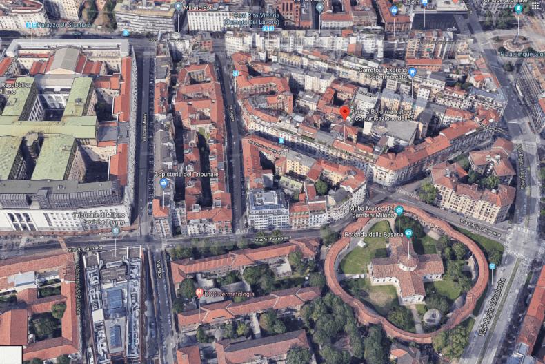 Paris&Bold location Milano