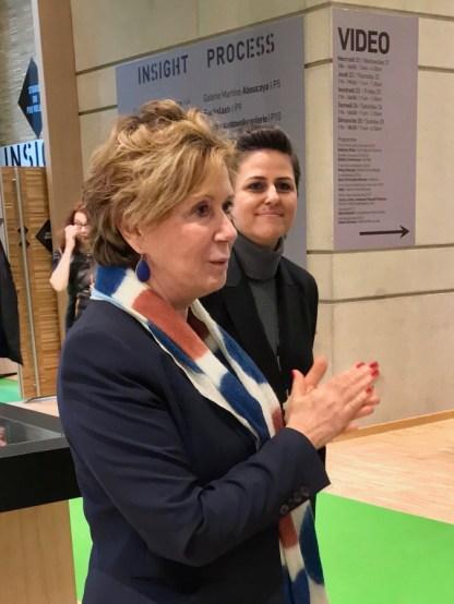 Christine Phal, fondatrice et présidente de Drawing Now Art Fair © Isabelle Henricot