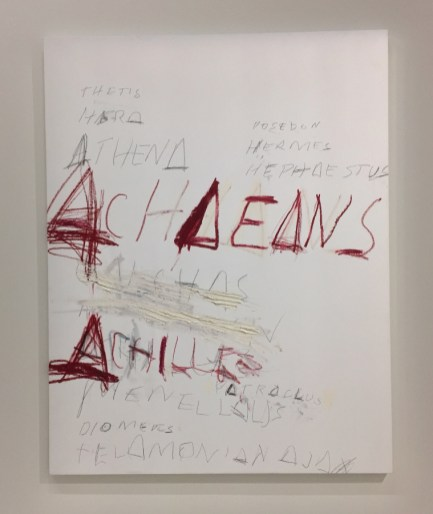 Cy Twombly, Fifty Days at Iliam: Heroes of the Acheans, 1978