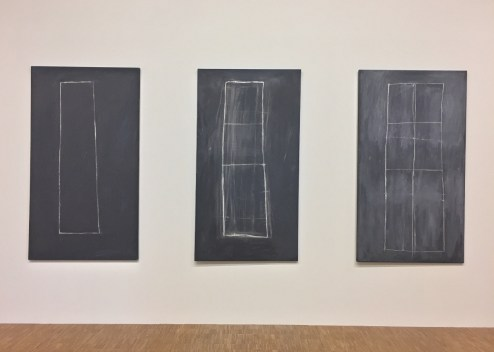 Cy Twombly, Problem I, II, III, MMK, Francfort-sur-le-Main,1966 © Isabelle Henricot
