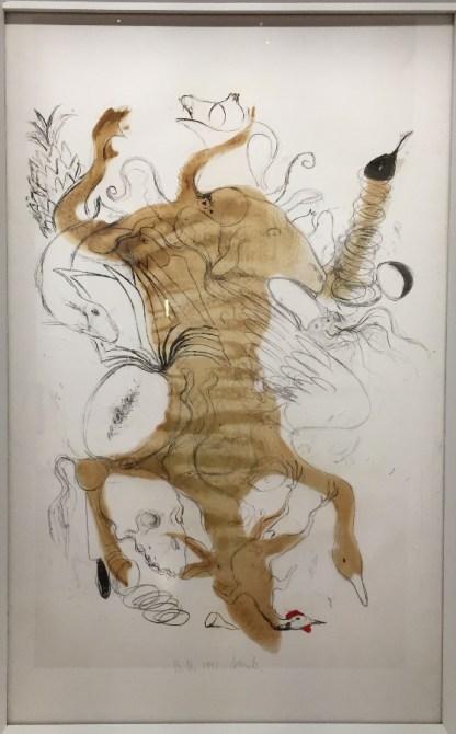 El Ball de carn, 1992, Lithographie biface,