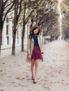Paris fashion in Palais Royal