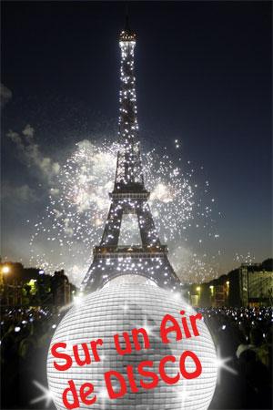 Feu d'artifice du 14 juillet Paris 2011