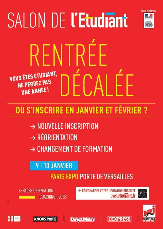 Salon de la Rentre Dcale de lEtudiant  Parc des expositions de la Porte de Versailles