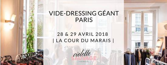 vide dressing geant violette sauvage la cour du marais paris 75003 sortir a paris le parisien etudiant