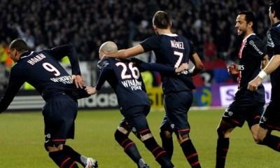 AJA - PSG : le groupe parisien