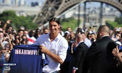 Photos : Ibrahimovic au Trocadero