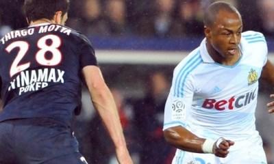 A. Ayew: «Le PSG est une bonne équipe»