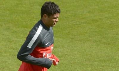 Thiago Silva quitte prématurément l'entraînement